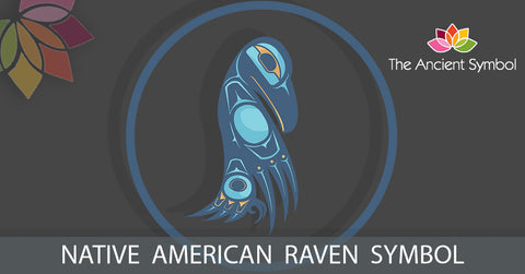native american raven symbol, traditional american tribal art symbol meanings explained