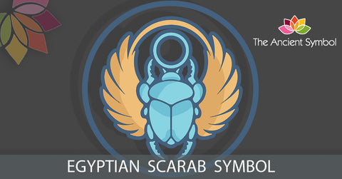 Egyptian Scarab Symbol, spiritual ancient artwork