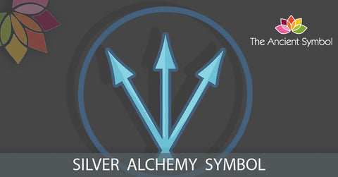silver alchemy symbol meaning