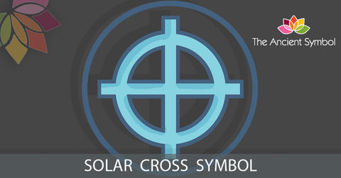 solar cross symbol, wicca magic