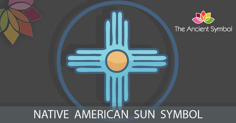 native american sun symbol, traditional american tribal art symbol meanings explained