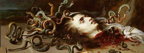 gorgon, medusa, greek symbol, the ancient symbol