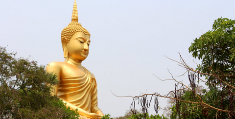 Golden Buddha, What is Buddhism? the meaning of being a buddhist
