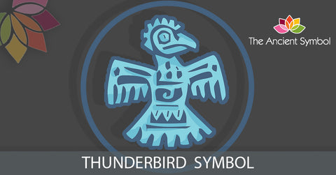 Thunderbird native american symbol, traditional american tribal art symbol meanings explained
