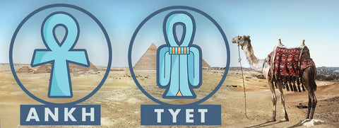 Ankh and tyet similarities symbol meanings