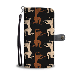 Minotaur Ancient Greek Beast Pattern Phone Wallet Case