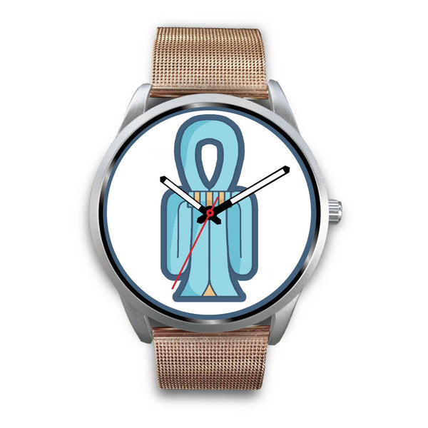 Tiet Tyet Isis Knot Ancient Egyptian Symbol Custom-Designed Wrist Watch