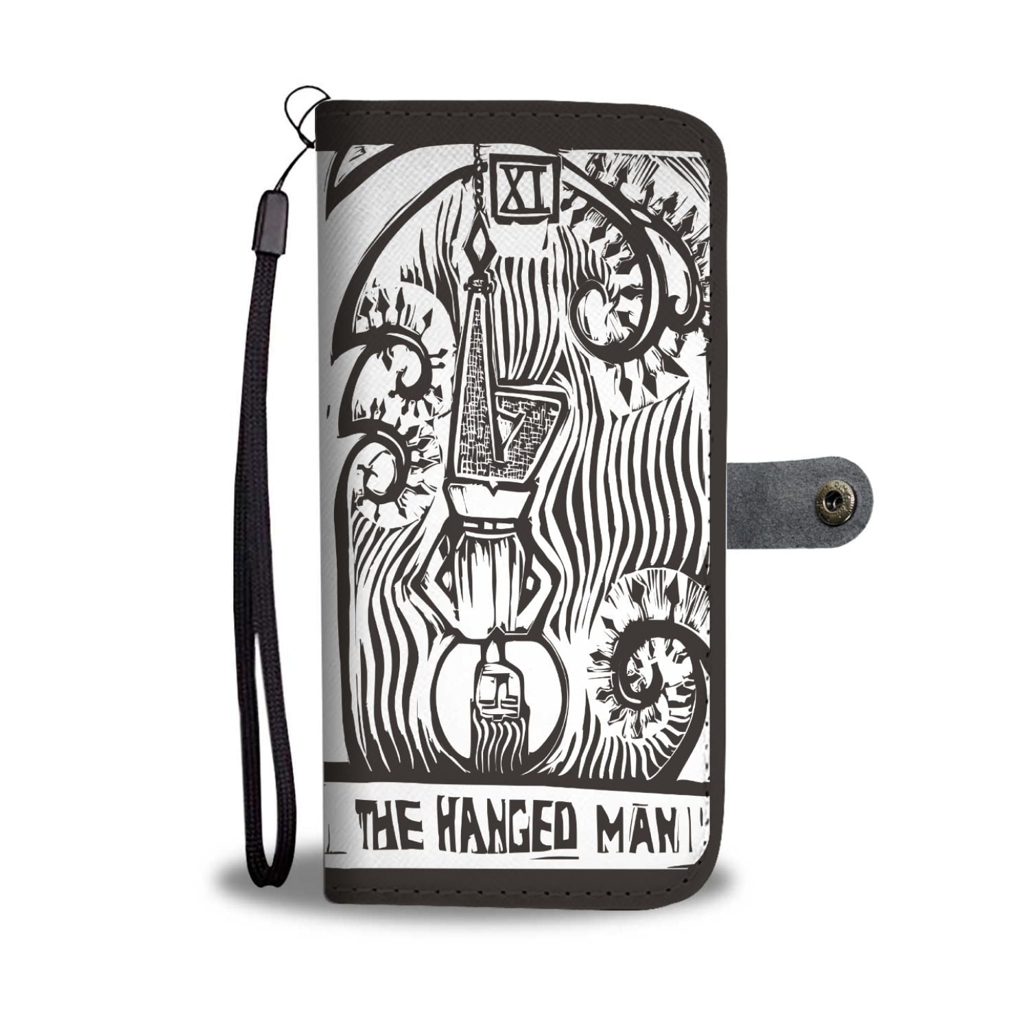 """The Hanged Man"" Tarot Phone Wallet Case"