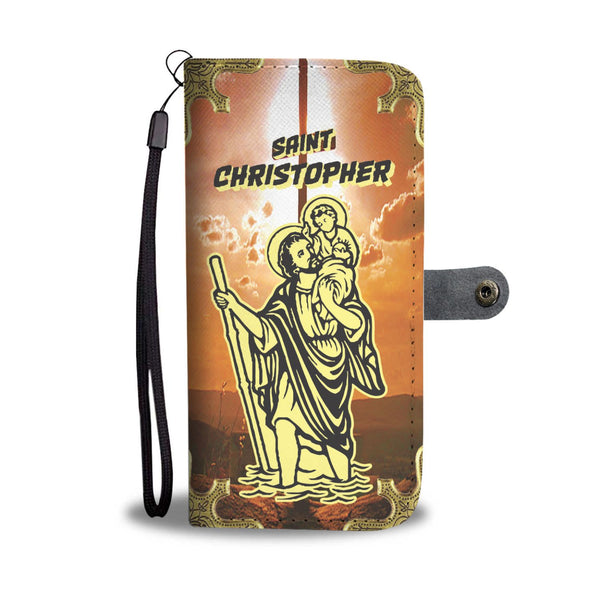 Saint Christopher Phone Case Wallet