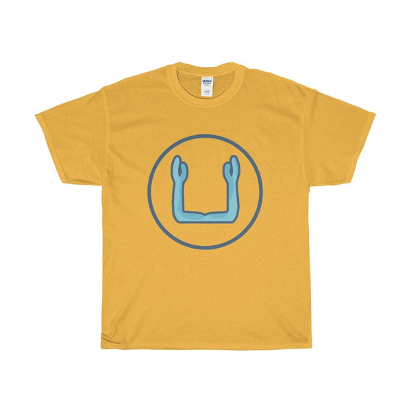 Unisex Heavy Cotton Tee, Ka Ancient Egyptian Symbol T-shirt