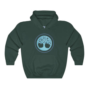 Tree Of Life Wiccan Pagan Spiritual Symbol Unisex Heavy Blend™ Hooded Sweatshirt