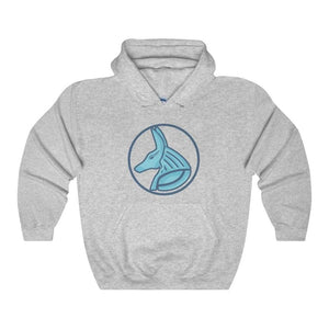 Ancient Egyptian God Anubis Symbol Unisex Heavy Blend Hooded Sweatshirt - Sport Grey / L - Hoodie