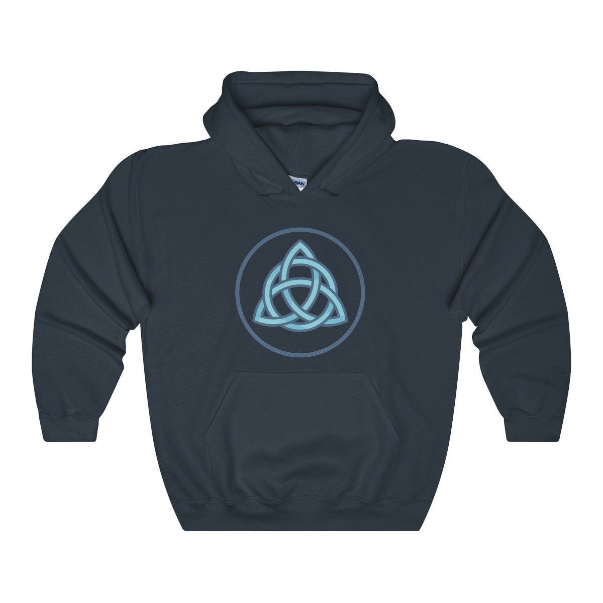 Triquetra Wiccan Pagan Symbol Unisex Heavy Blend™ Hooded Sweatshirt