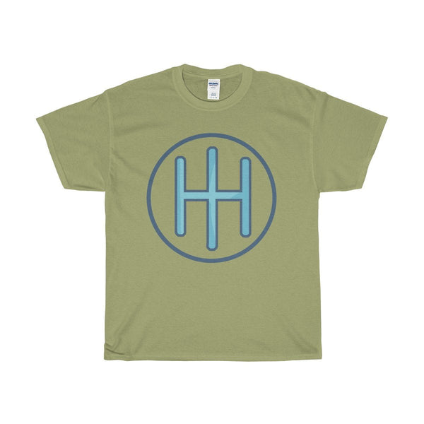 Unisex Heavy Cotton Tee, Christian IH Monogram Symbol T-shirt