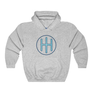 Ih Monogram Christian Symbol Unisex Heavy Blend Hooded Sweatshirt - Sport Grey / L - Hoodie