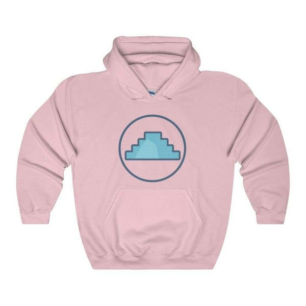 Primordial Hill Ancient Egyptian Symbol Unisex Heavy Blend Hooded Sweatshirt - Light Pink / S - Hoodie