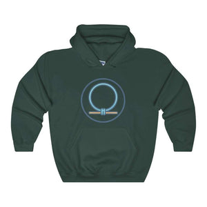 Shen Shenu Ring Ancient Egyptian Symbol Unisex Heavy Blend Hooded Sweatshirt - Forest Green / L - Hoodie