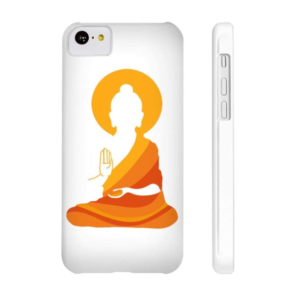 Spiritual Colorful Buddha With Aura Cell Phone Slim Case - Iphone 5C Slim - Phone Case