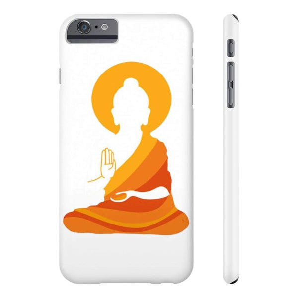 Spiritual Colorful Buddha With Aura Cell Phone Slim Case - Iphone 6/6S Plus Slim - Phone Case