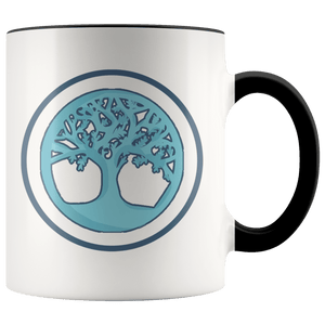 Tree of Life Buddhist Pagan Spiritual Symbol 11oz. Ceramic White Mug
