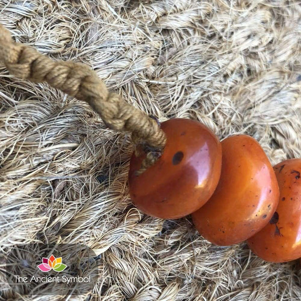 Vintage Copal Amber Bead Necklace