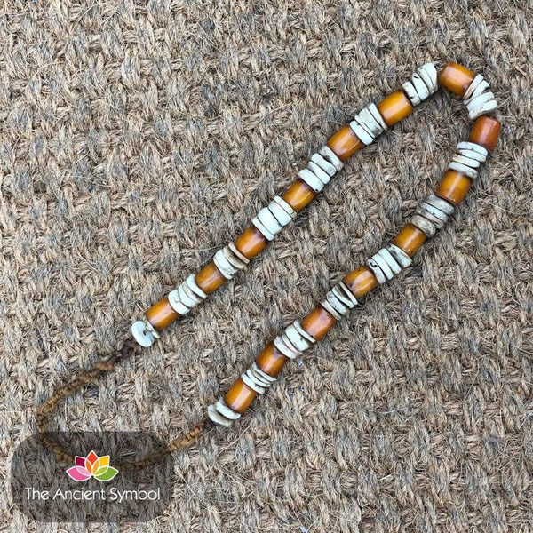 Vintage Nepalese Beaded Necklace