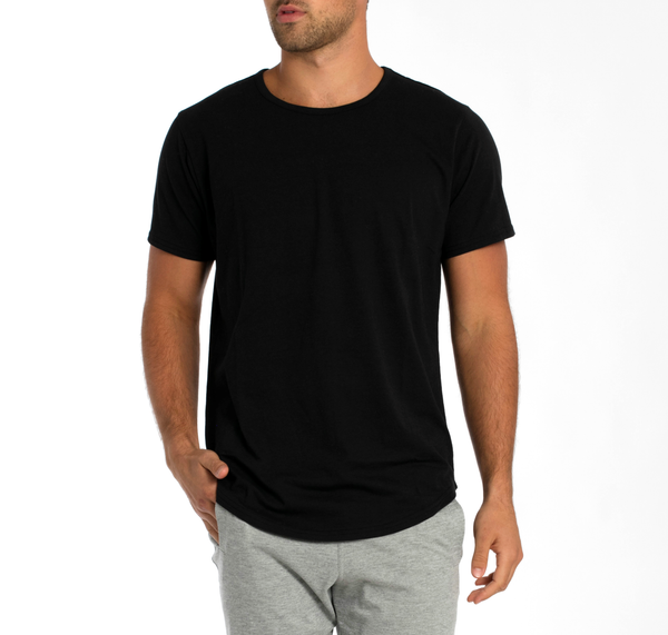 Men's Fitted Long T-Shirt