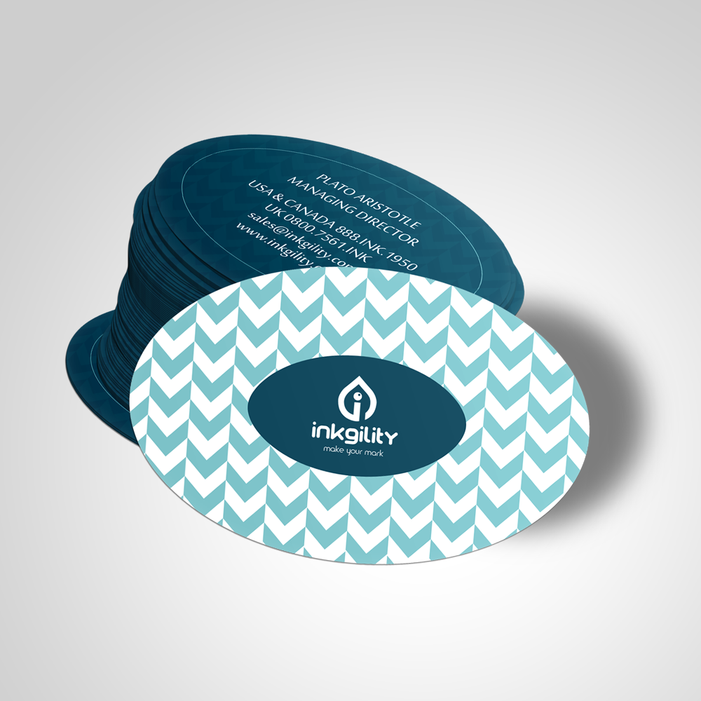 Business Cards Oval