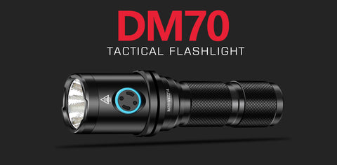 IMALENT DM70 tactical flashlight