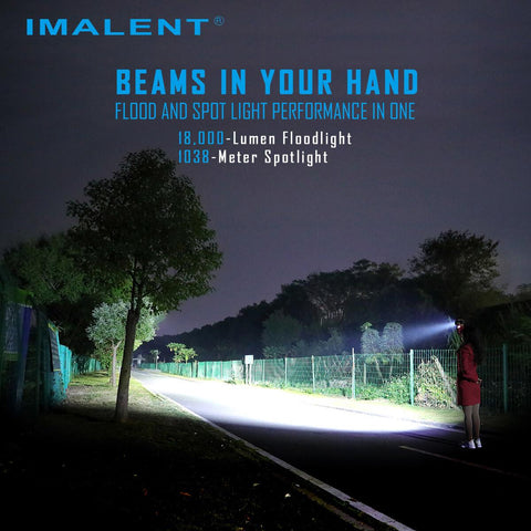 IMALENT R60C 18000 lumens flashlight
