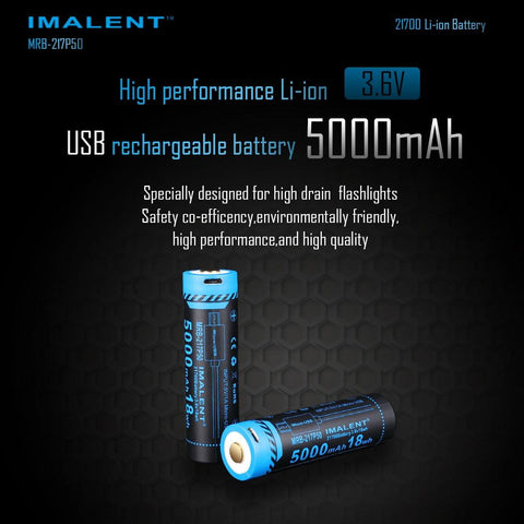 MRB-217P50  USB rechargeable Li-ion battery 5000mAh