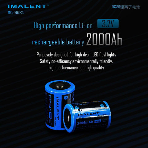 26350  2000mAh Battery (for BG10) - imalentstore