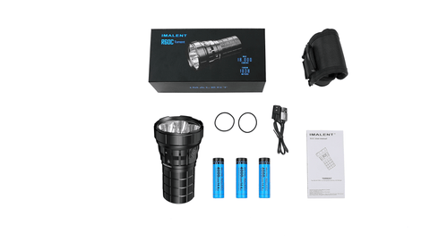 Imalent R60C flashlight kit