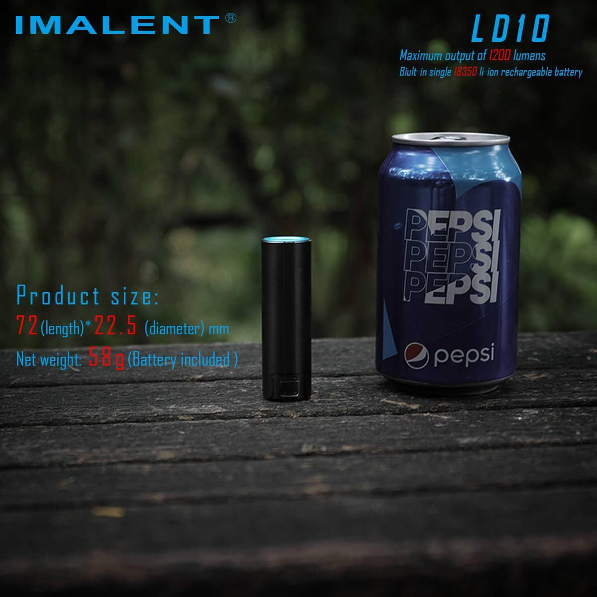 imalentstore,LD10 LED  FLASHLIGHT,imalentstore,D-series Flashlights
