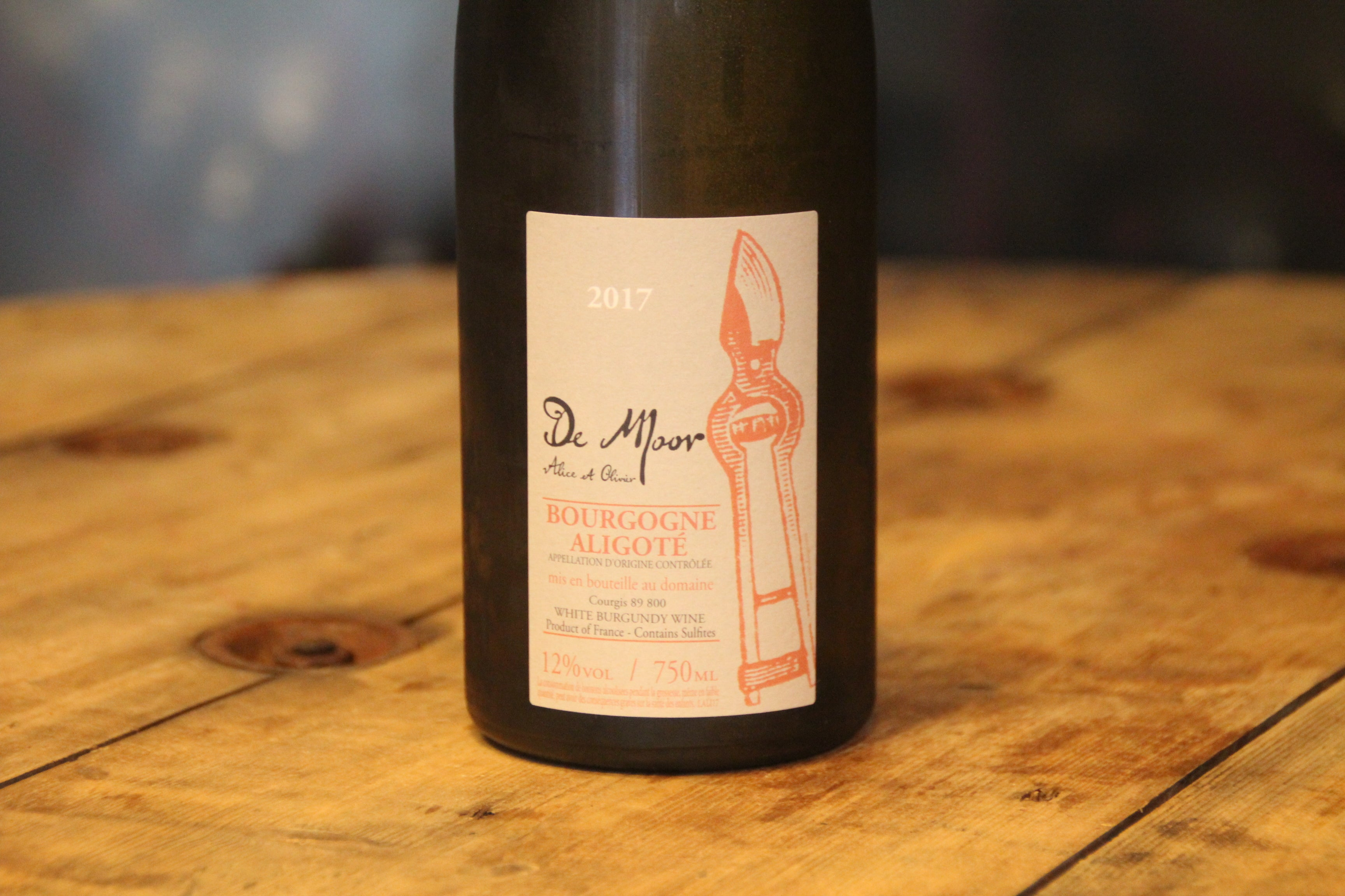 Bourgogne Aligote 2017 - Domaine de Moor - SOLD OUT