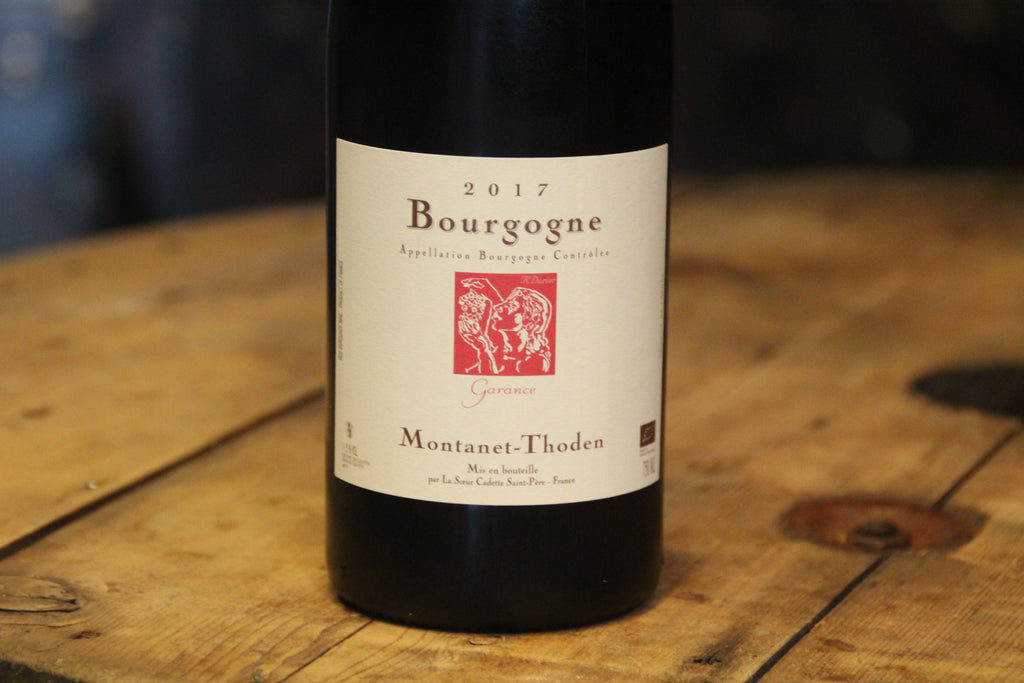 Burgundy Garance 2017 - Montanet-Thoden - SOLD OUT