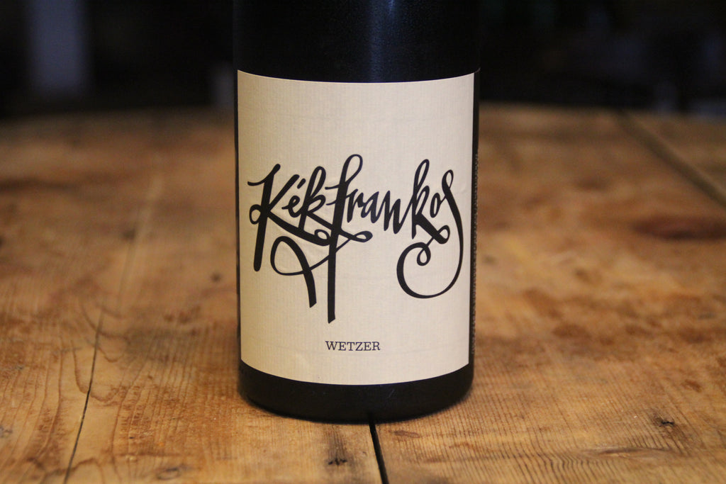 Kekfrankos 2016 - Peter Wetzer Wines - SOLD OUT