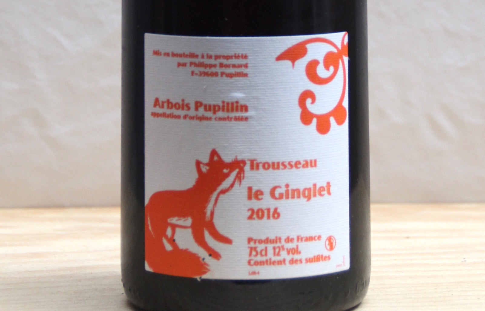 Le Ginglet 2016 - Domaine Bornard - SOLD OUT