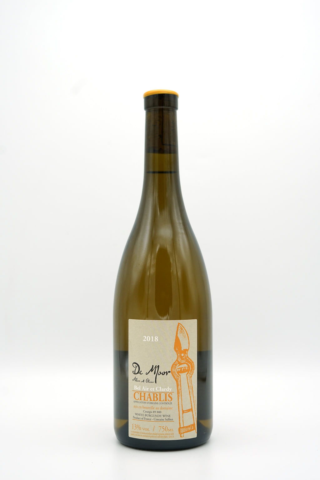 Chablis Bel-Air et Clardy 2018 - de Moor - SOLD OUT