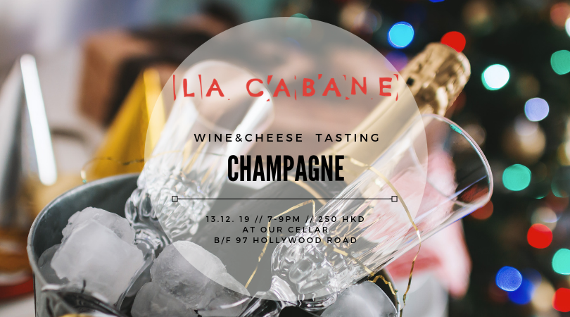 Champagne & Coteaux Champenois - wine & cheese tasting - 13.12.19