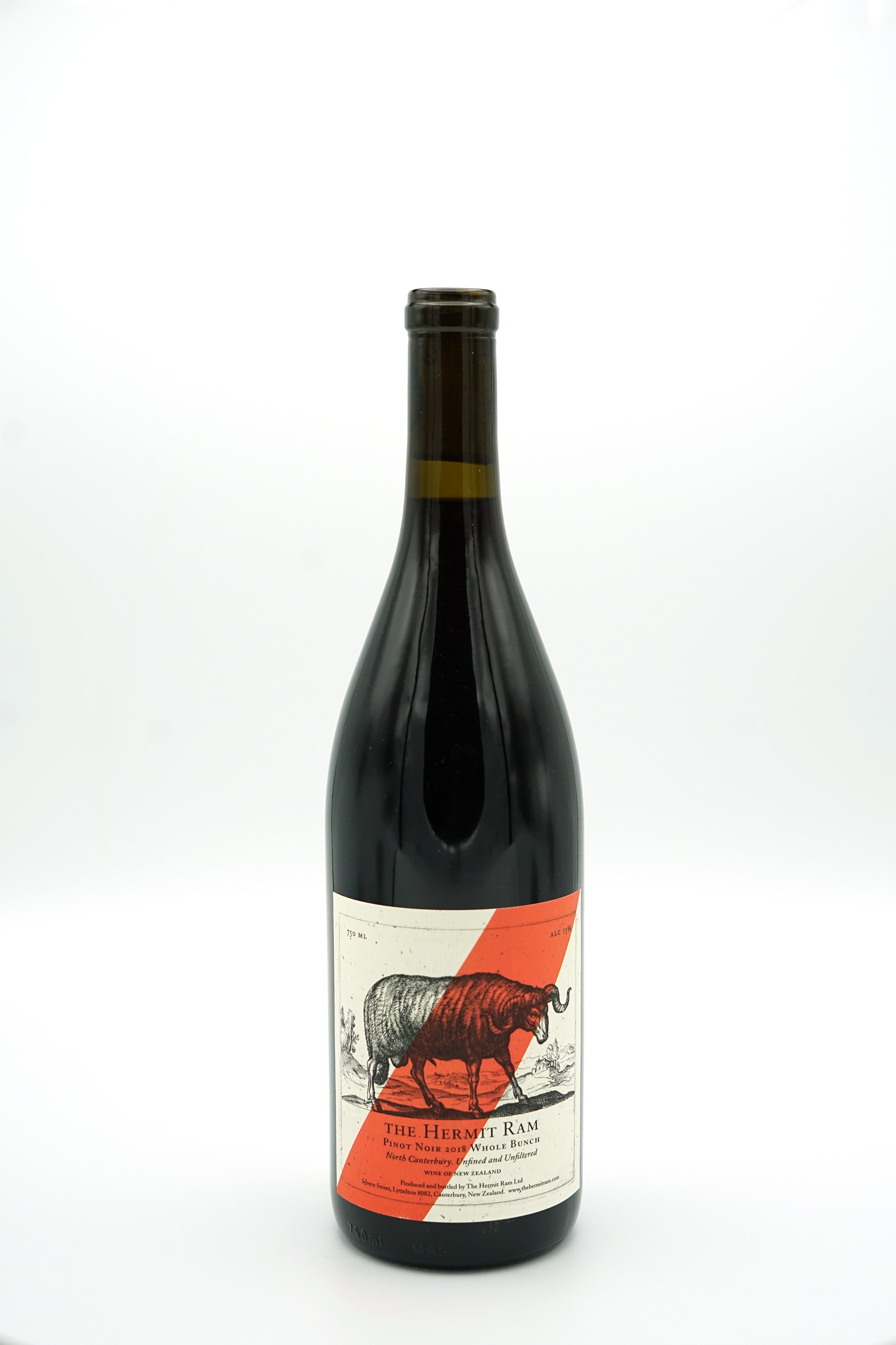 Wholebunch Pinot Noir 2018 - The Hermit Ram - SOLD OUT