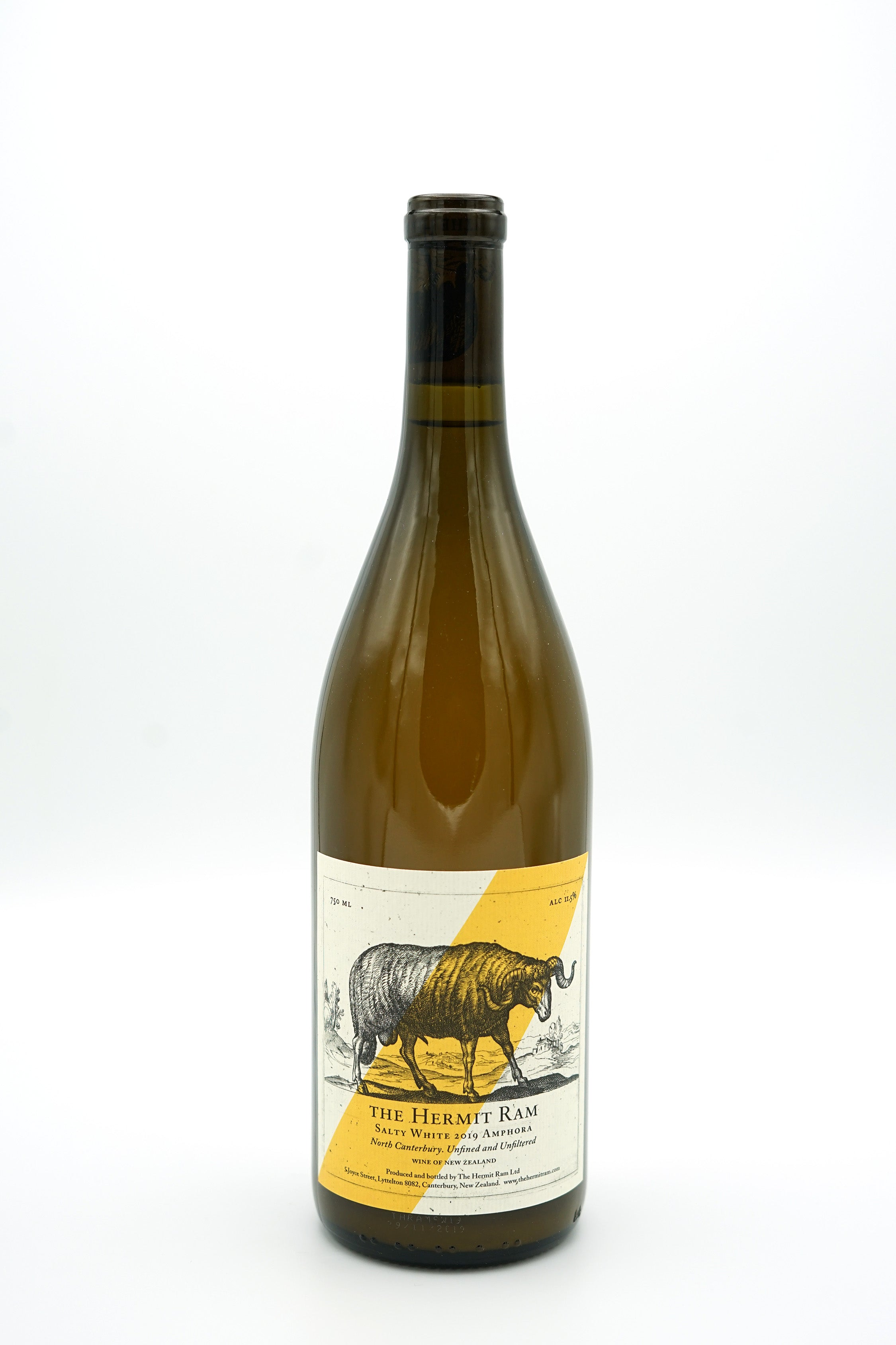 Amphora 'Salty White' 2019 - The Hermit Ram - SOLD OUT