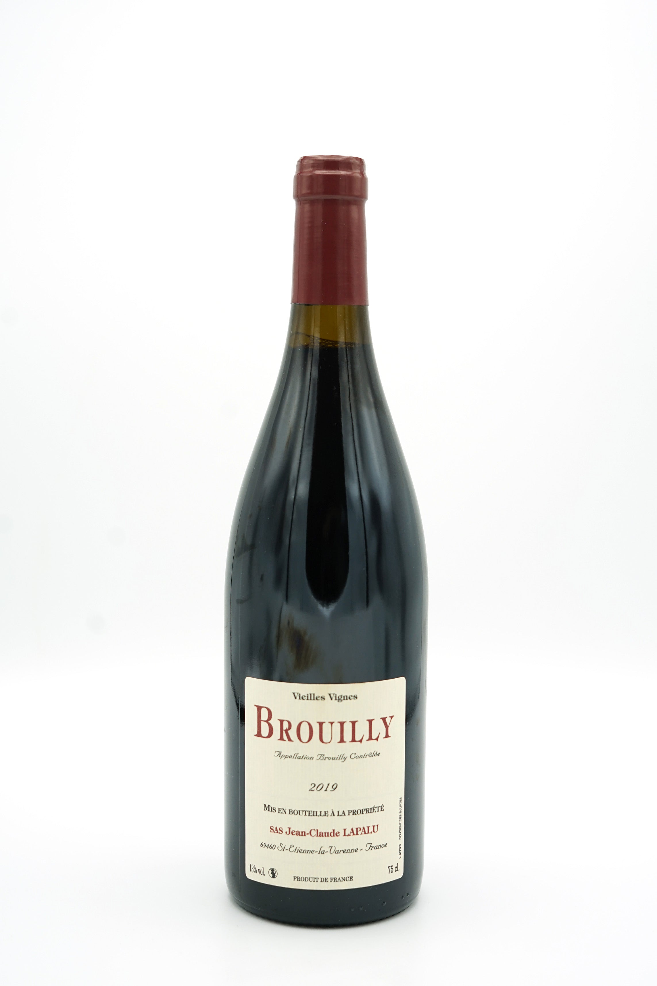 Brouilly VV 2019 - Domaine Jean-Claude Lapalu