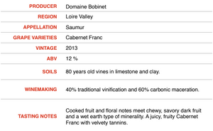 Ruben 2013 - Domaine Bobinet - SOLD OUT