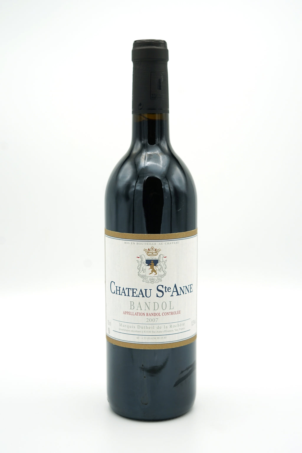 Bandol Rouge 2007 - Chateau Sainte Anne