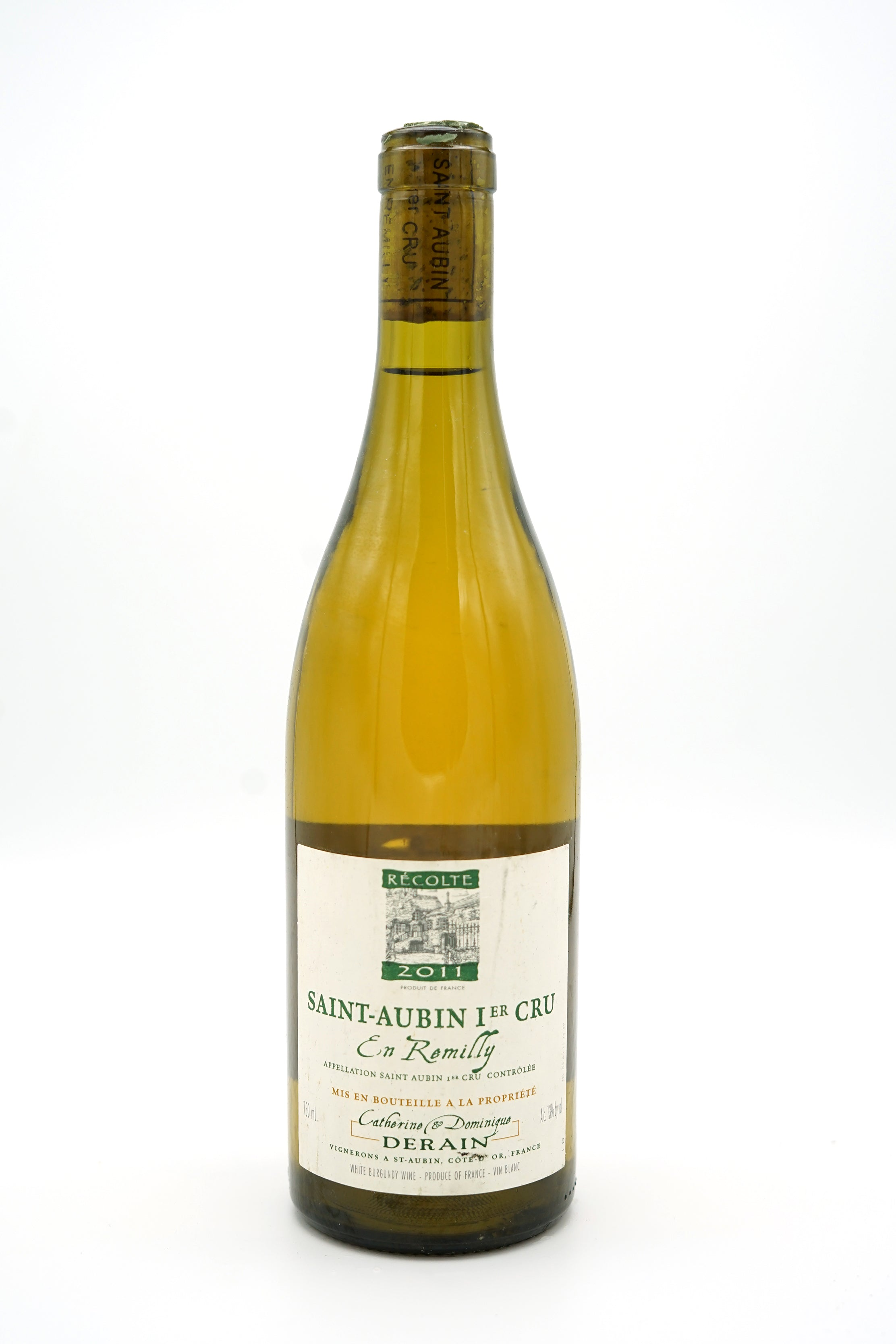 Saint-Aubin 1er cru En Remilly 2011 - Domaine Derain - SOLD OUT