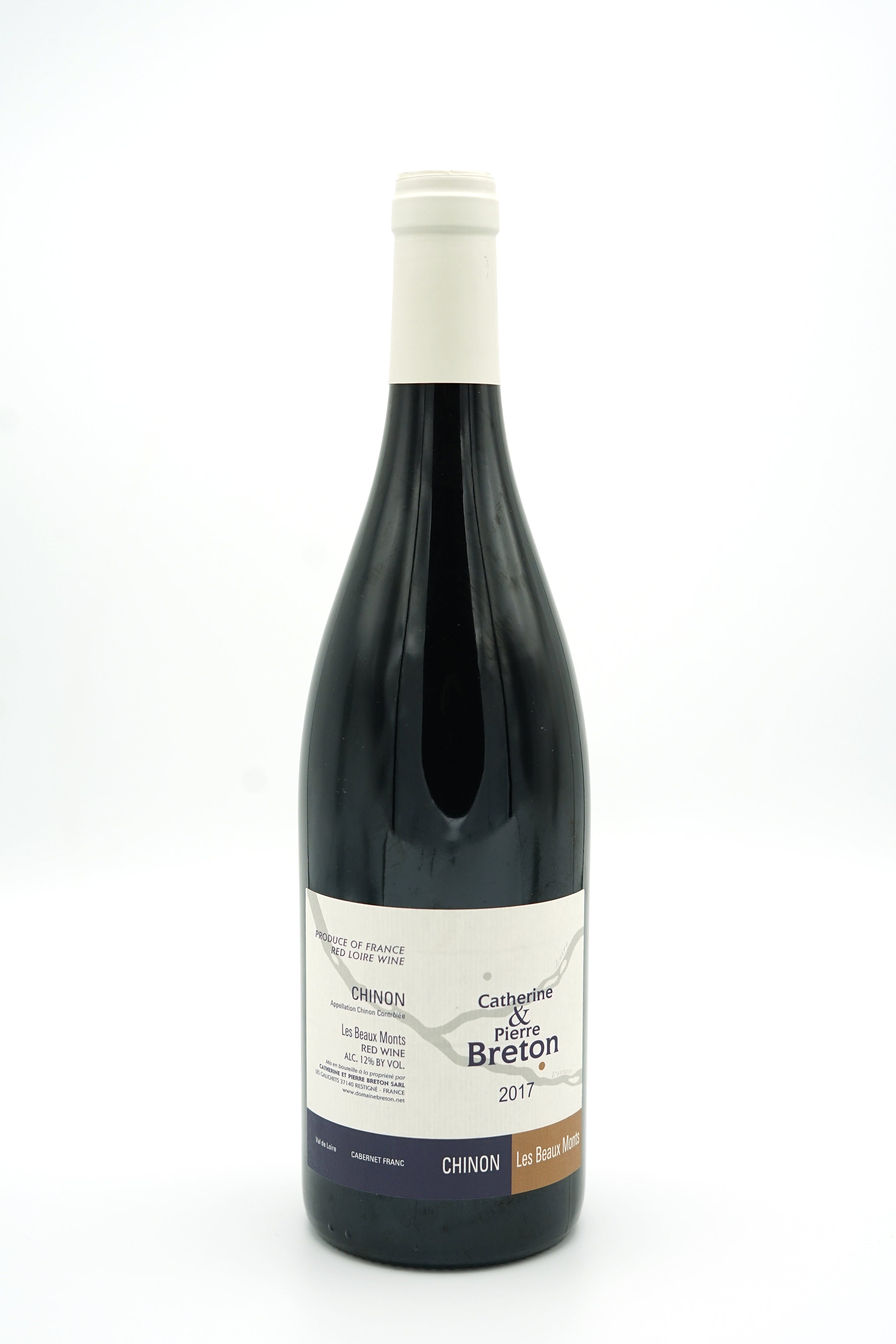 Chinon Beaux Monts 2017 - Domaine Breton - SOLD OUT