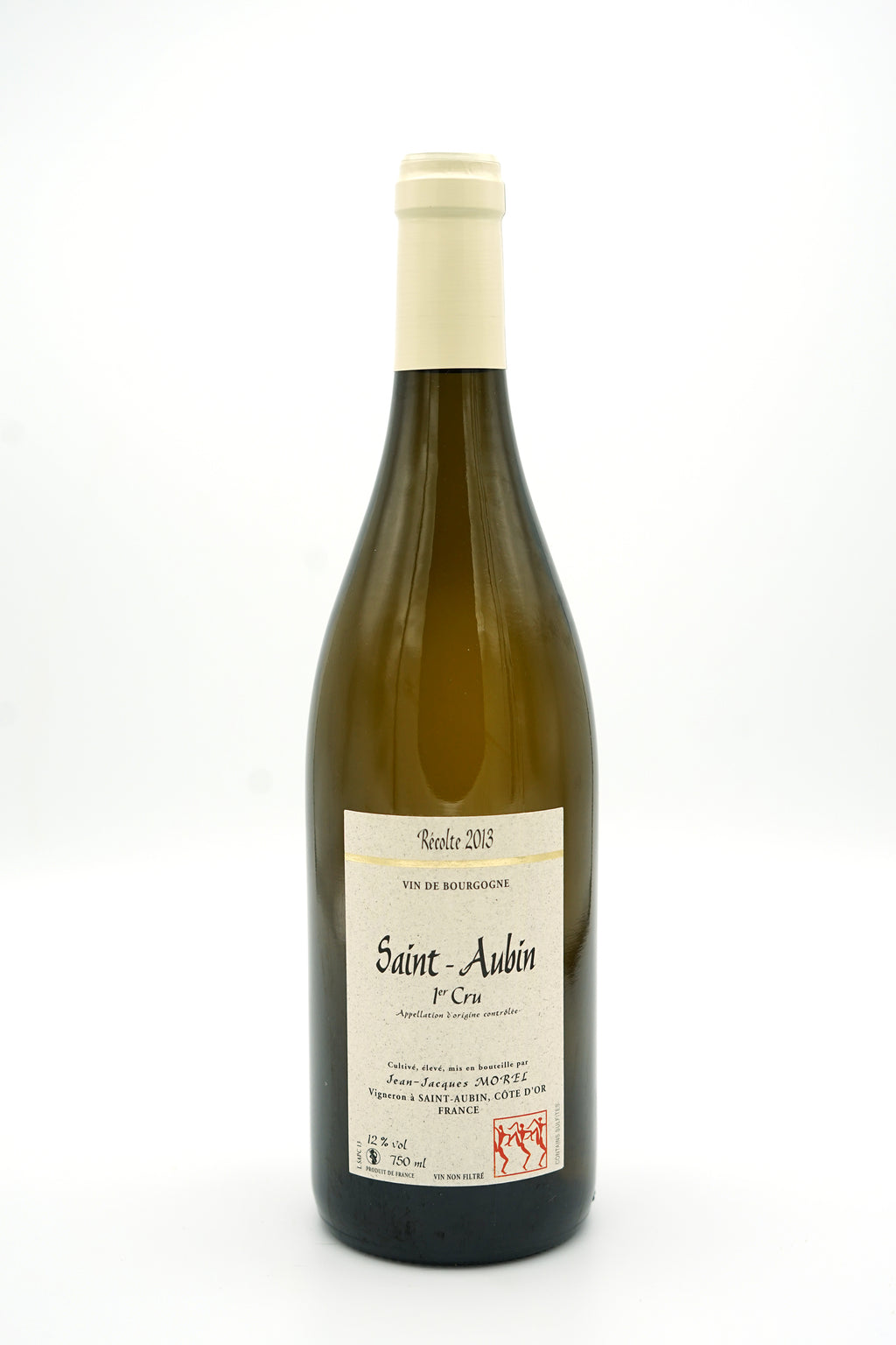 Saint-Aubin 1er Cru Blanc 2013 - Domaine Jean-Jacques Morel - SOLD OUT