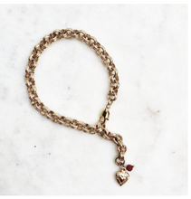 Load image into Gallery viewer, Bracelet Big Chain Heart