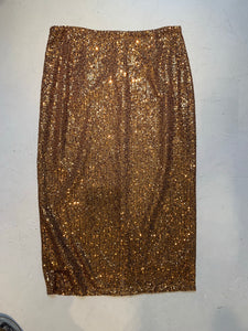 Basic paullet skirt gold